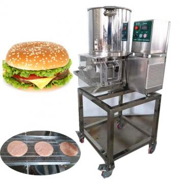 Industrial Hamburger Sausage Patty Maker Press Automatic Burger Press Machine