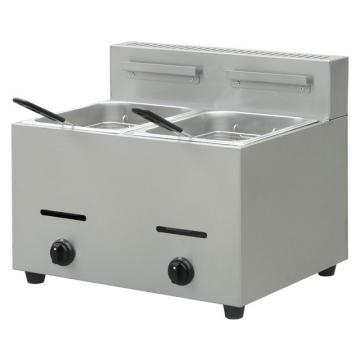 Catering Equipments Countertop Gas Deep Fryer Commercial