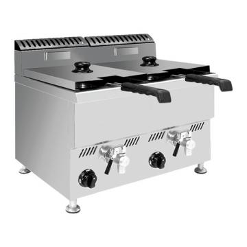 27L Capacity Commercial Kitchen Equipment Induction Deep Fryer