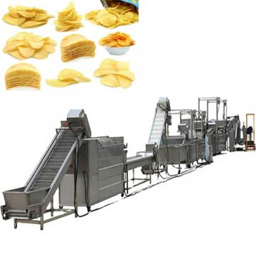 Fried Cassava Chips Machine Stick Cracker Machine Potato Sticks Salad Chips Machine Extruder Pellet Snack Frying Prouction Line