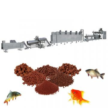 China Aquatic Floating Ornamental Fish Tilpia Catfish Pet Dry Dog Bird Fox Shrimp Food Pellet Processing Making Extruder Price