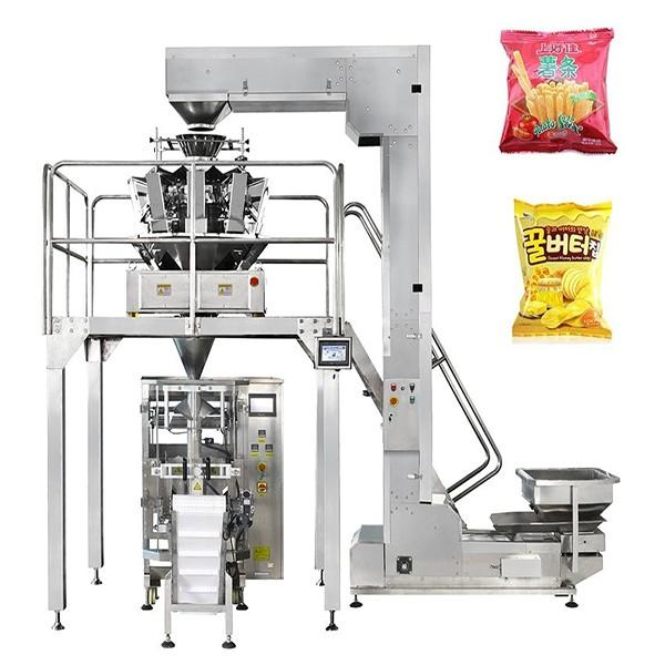 Automatic French Fries Potato Chips Food Weighing Packing Packaging Machine
